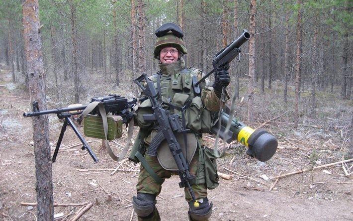 оружие, фон, обои, смешной солдат
