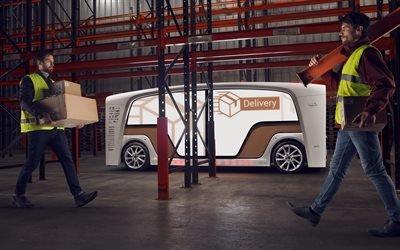 Ринспид, электромобиль, модульный беспилотник, концепт, 2018, Rinspeed, Rinspeed Snap, self - driving car, concept