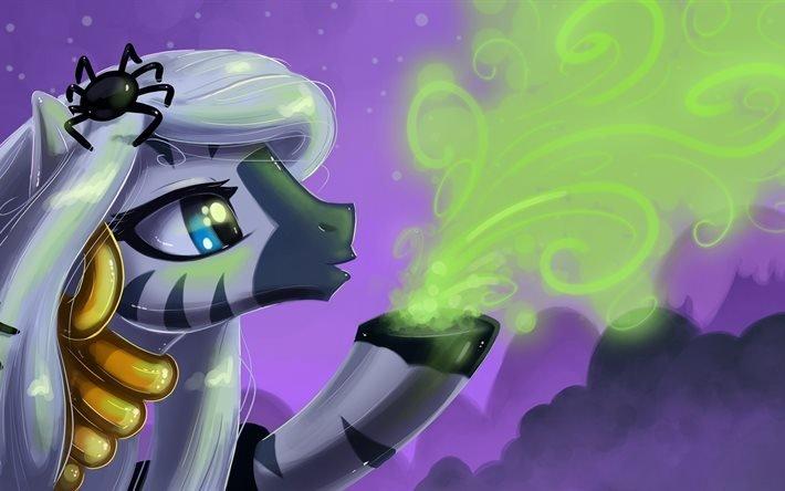 My little pony, Дружба это чудо, пони, Zecora