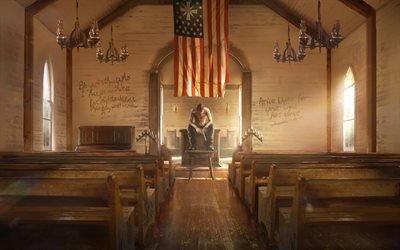 Far Cry 5, 2018, компьютерная игра в жанре шутер