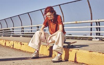 Натали Уэстлинг, Natalie Westling, американская модель, рекламная кампания, фотосессия, Vans