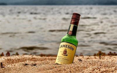 Море, Пляж, Jameson, Джеймсон, ирландский виски