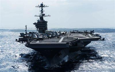 Джон К Стеннис, американский авианосец, ВМФ США, военный корабль, атомные авианосцы, США, USS John C Stennis, CVN-74