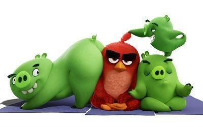 Angry Birds, Злые птички, 2016, мультфильм, комедия