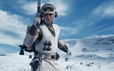 Star Wars - Battlefront, 2015, компьютерная игра, шутер