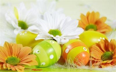 Пасха, яйца, яйцо, орнамент, Яскраве, пасхальне, яйце