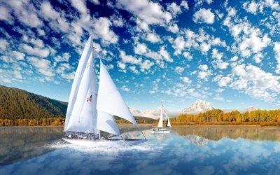 парусник, озеро