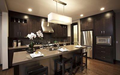 кухня, дизайн, помещение, оформление