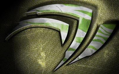 nVidia, лого, логотип, Нвидиа