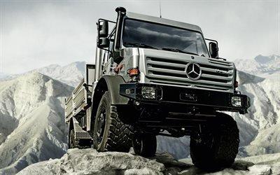 Грузовик, Мерседес, Mercedes-Benz, Unimog, U5000, HL