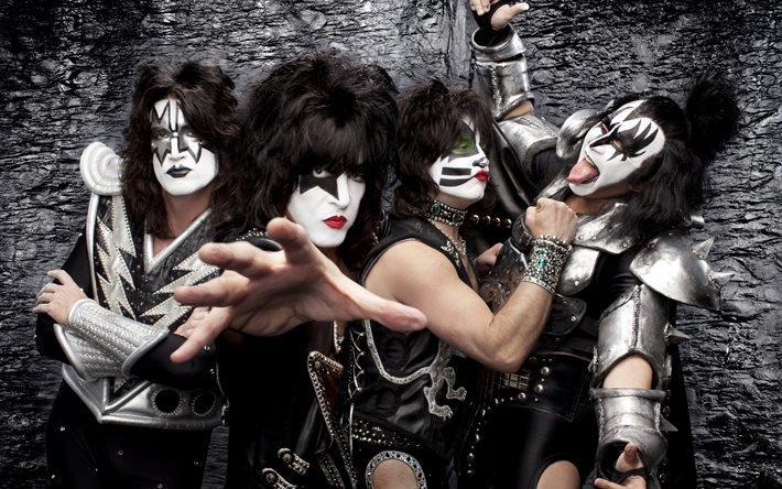 Kiss, рок, группа