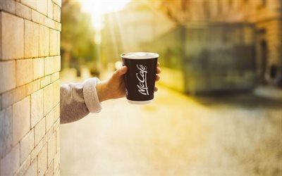 Улица, Угол, Аромат свежего кофе, МакКафе