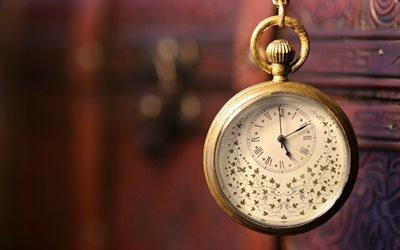 Макро, Старые часы, Цепочка
