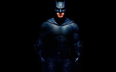 Бэтмен, 4к, фильмы 2017 года, Лига справедливости, Batman, Кинофантастика