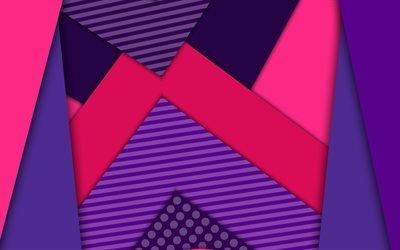 разноцветные полоски, 4к, android, креатив, геометрические фигуры, линии, разноцветная абстракция