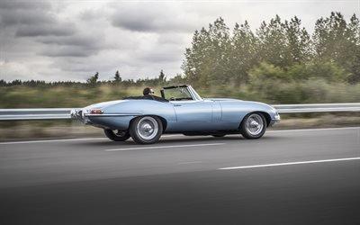 Ягуар, электромобиль, концепт, 2017, Jaguar, Jaguar E-type Zero