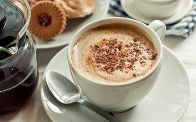 кофе, чаша, чашка