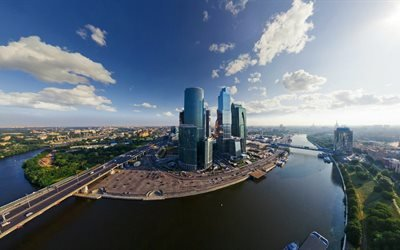 Москва река, Москва, Москоу-Сити