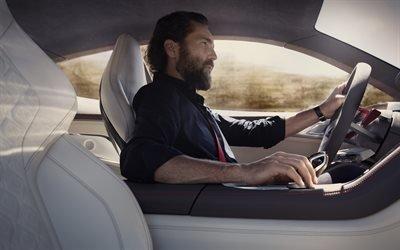 БМВ, спортивное купе, концепт, 2017, BMW, 8-Series Concept