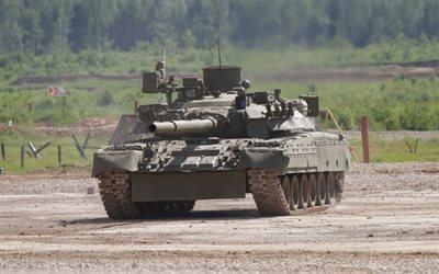 танк, Т-80, полигон