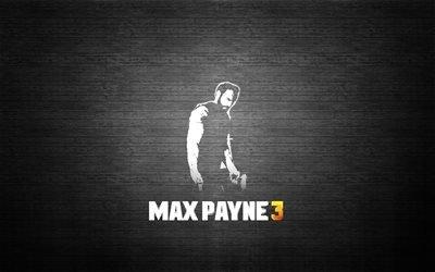 Max Payne 3, логотип, Макс Пэйн 3