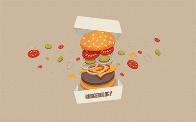 бутерброды, бургеры, креатив, Burgerology