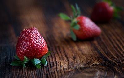 Клубника, Еда, Ягоды, Strawberry, Food, Berries
