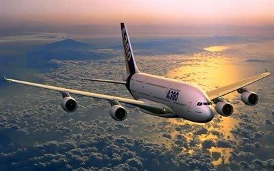 Airbus, A380, Аирбас, Айробус, А380, 380