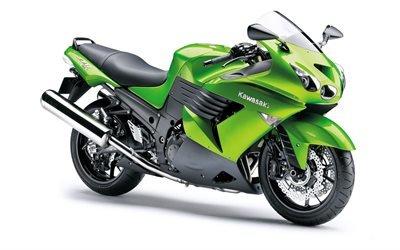 Спортивный, мотоцикл, Кавасаки, Ниндзя, Kawasaki, Ninja, Zx-14