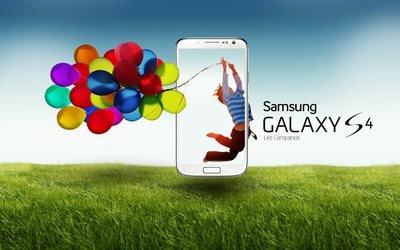 Samsung, Galaxy, S4, Самсунг