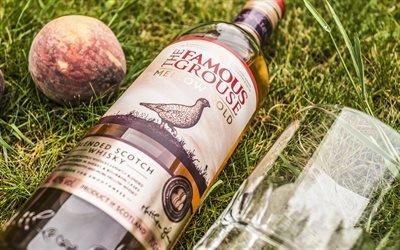 Трава, Фрукты, Бутылка, Famous Grouse, Фэймос Граус, шотландский виски