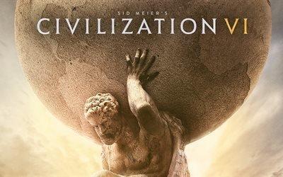 Цивилизация 6, 5K, стратегия, 2016, Civilization VI, Civilization 6