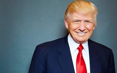 Дональд Трамп, 45ый президент США, Donald Trump, США, портрет Трампа