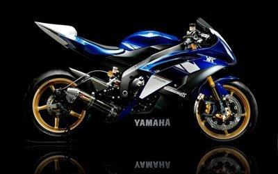 Yamaha, мото, Ямаха, трек, Yamaha R6