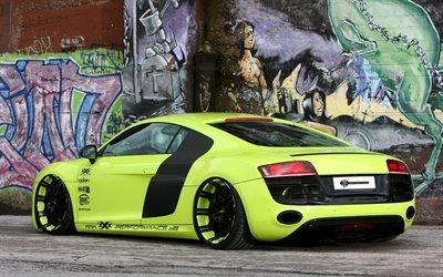 Audi R8, Audi, R8, ауди, занижение
