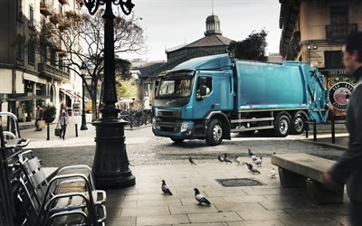 Вольво, трёхосный грузовой автомобиль, мусоровоз, Volvo, Volvo FE 320
