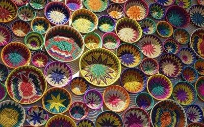 Ручная работа, Плетение, Корзинки, Текстуры