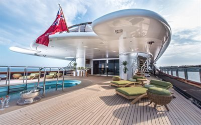 Nirvana, круизная мега-яхта