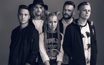 Tonight Alive, австралийская панк-группа, Дженна МакДоугалл, Джейк Харди, Кэм Эдлер, Мэтт Бест