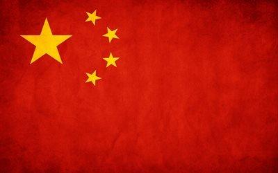 флаг, прапор, Китай