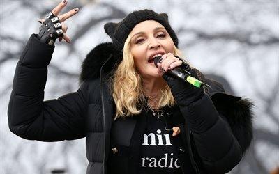 Мадонна, Женский марш против Дональда Трампа, Вашингтон, Madonna, Womens March, Washington