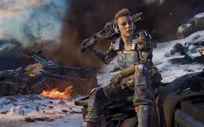 Call of Duty : Black Ops 3, футуристический шутер, игры, Sony PS 4