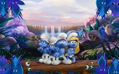 Смурфики 3, Затерянная деревня, 2017, Смурфетта, Smurfs, The Lost Village, Smurfs 3