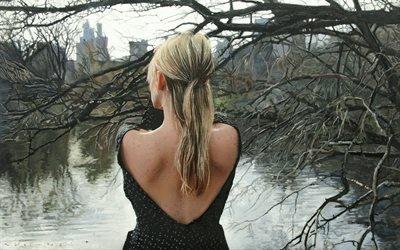 Игаль Озери, Igal Ozeri, американский художник, гиперреализм, картина, масло, 2012
