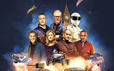 Top Gear, BBC, 2016, Крис Эванс, Мэтт Леблан, Рори Рейд, Сабина Шмиц, Крис Харрис, Эди Джордан