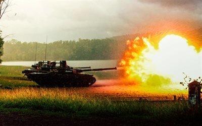 Оплот-М, украинская армия, выстрел, Украина, танки, українська армія, Україна