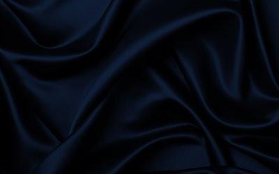 синий шелк, текстура шелка, шелковая ткань, синій шовк, текстура шовку, шовкова тканина