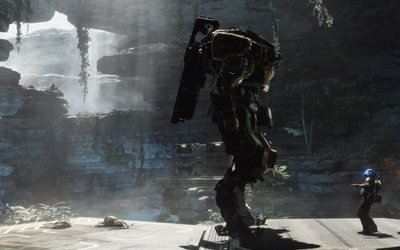 Titanfall 2, роботы, 5k, экшн