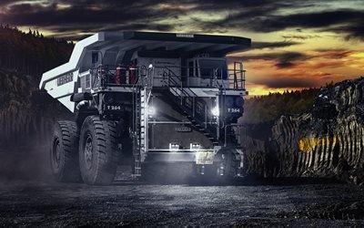 большие грузовики, самосвалы, Liebherr T264, карьерный самосвал