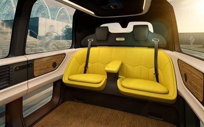 Фольксваген, беспилотный электромобиль, концепт, 2017, Volkswagen, Sedric